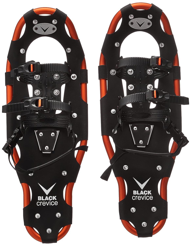 Black Crevice Racchette da Neve, Unisex, Schneeschuhe, Nero/Arancione, 58 BCR201000-58 BCR201000_black/orange-58