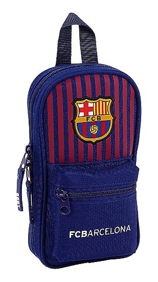 FC Barcelona Plumier Mochila 4 Estuches llenos, 33 Piezas, Escolar: Amazon.es: Equipaje