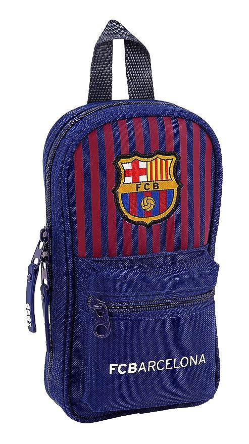 FC Barcelona plumier Mochila 4 Estuches llenos, 33 Piezas ...