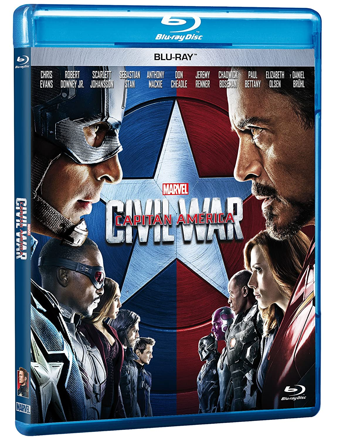 Amazon.com: Civil War Capitan America Pelicula En Blu-ray ...