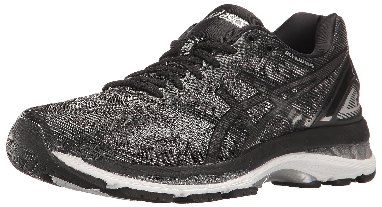 ASICS Women's Gel-Nimbus 19 Running Shoe B01GST369S 10.5 B(M) US|Black/Onyx/Silver