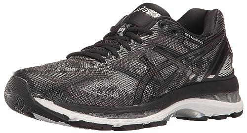 release date: 431ac 77a86 ASICS Women s Gel-Nimbus 19 Running Shoe, Black Onyx Silver, 5