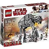 LEGO Star Wars First Order Heavy Assault Walker 75189 Building Kit (1376 Piece)