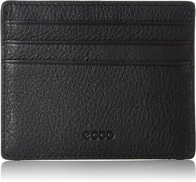 Ecco Jos Slim Card Case, Men's Schwarz (Black), 1x8x10 cm (B x H T)