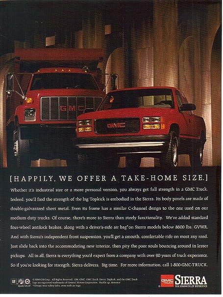 1994 GMC Sierra Truck Vintage Advertisement Ad P49