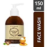 ST. D'VENCÉ Moroccan Argan Oil and Raw Honey Face Wash, 150 ml