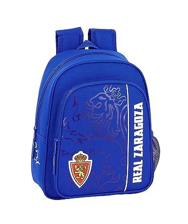 Real Zaragoza Oficial Mochila Escolar Infantil, Multicolor ...