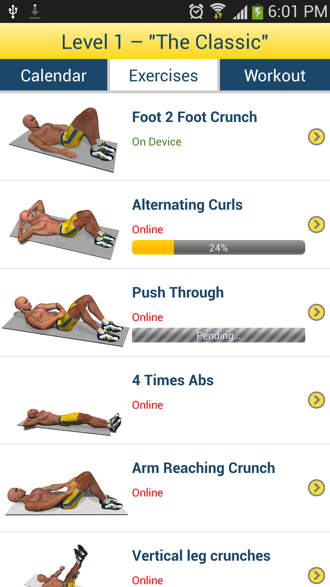 core workouts at home abs workout appstore for android 30667