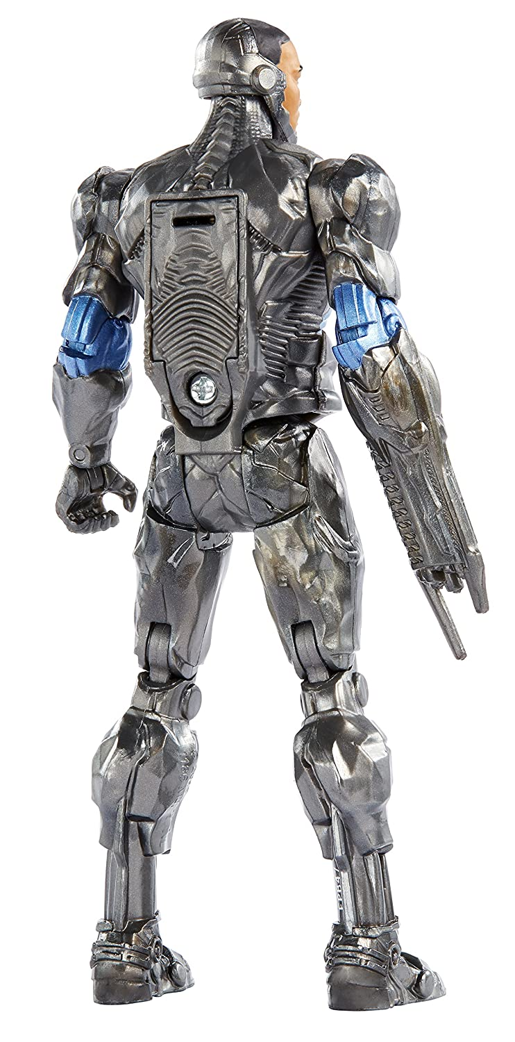 DC Justice League Talking Heroes Stealth Attack Cyborg Figure