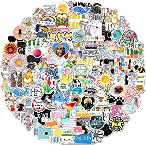 200Pcs Cute Stickers Pack for Teens and Adults,Vinyl Decals for Water Bottles Hydroflask Book MacBook Laptop Phone Case