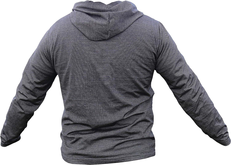 EMF Protection Mens Hoodie. RF Shielding Anti-Radiation emf Protection  Clothing. EMF Blocker at Amazon Men's Clothing store