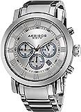 Akribos XXIV Men's AK622SS Grandiose Stainless Steel Bracelet Watch