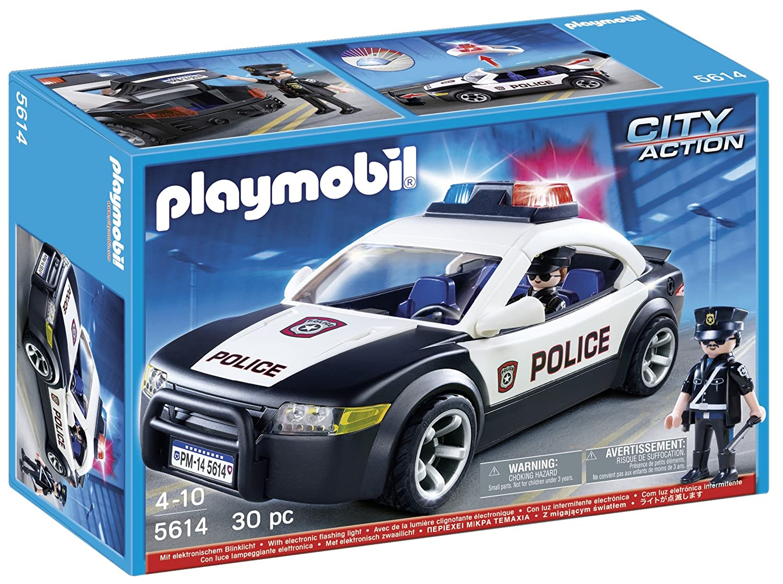 Playmobil 5614 Polizei Wagen Mit Blinklicht Fahrzeug 2