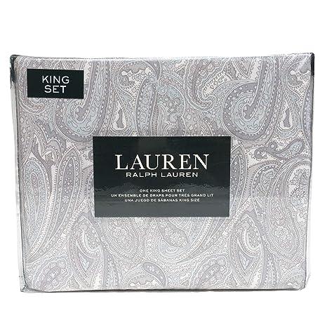 Amazon.com: Lauren - Juego de sábanas para cama de ...