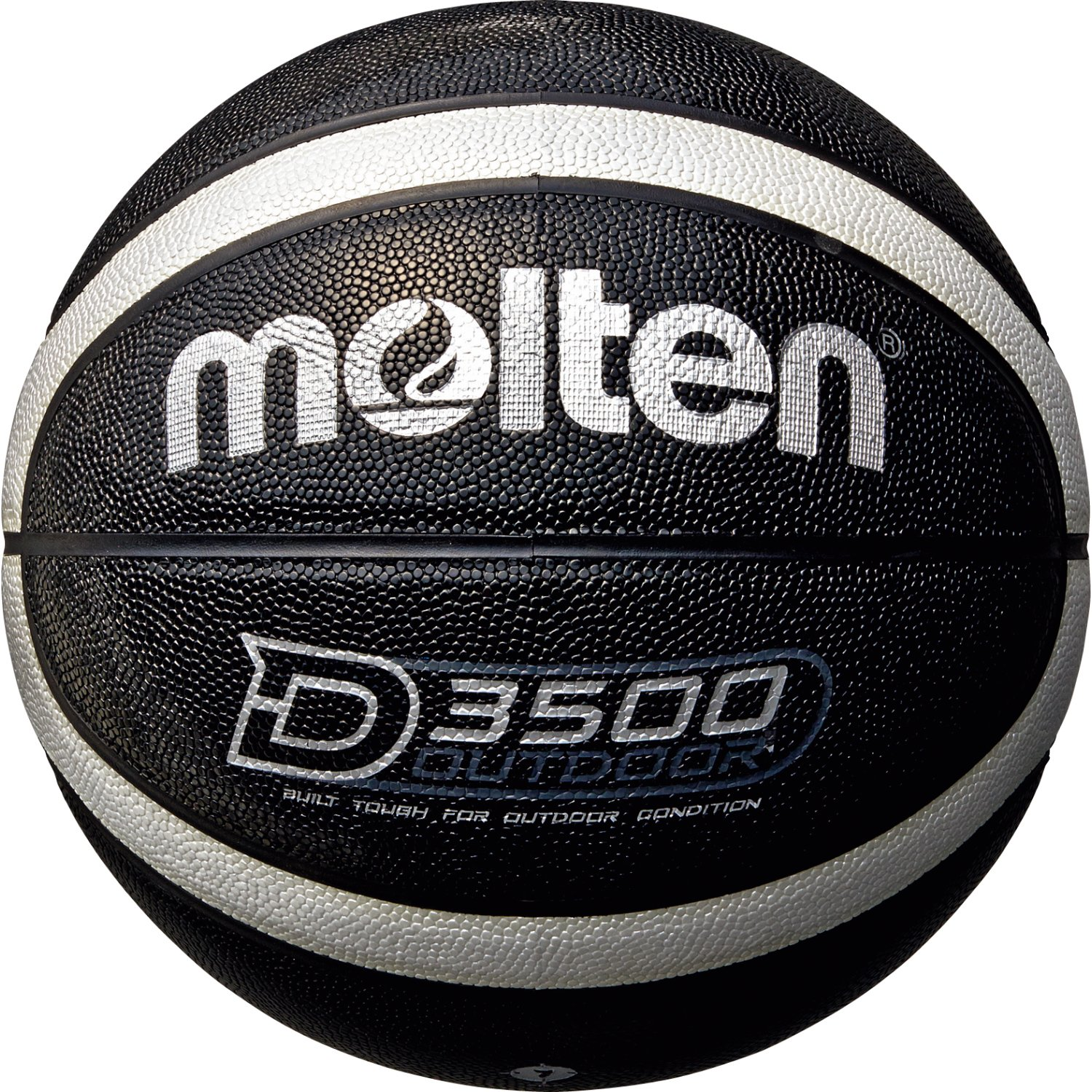 Molten Messieurs b7d3500 de KS Basketball, Noir, 7