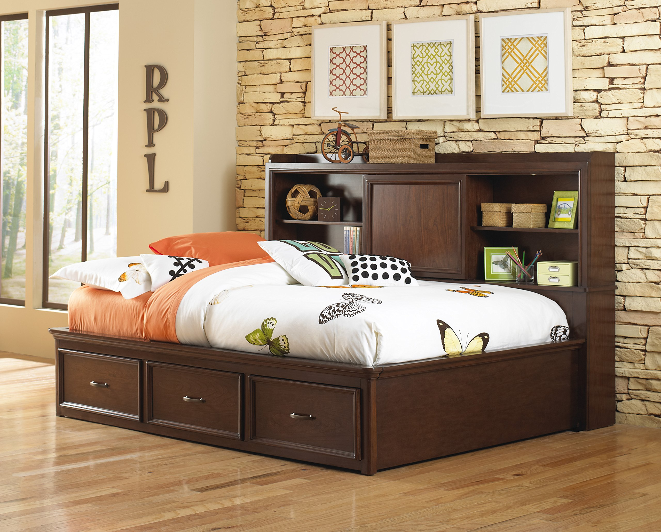 Pulaski 8468-BR-K13 Expedition Youth Lounge Bed, Full