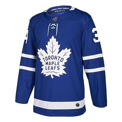 Auston Matthews Toronto Maple Leafs Adidas NHL Men s Authentic Blue Jersey 3e7ecfbec2