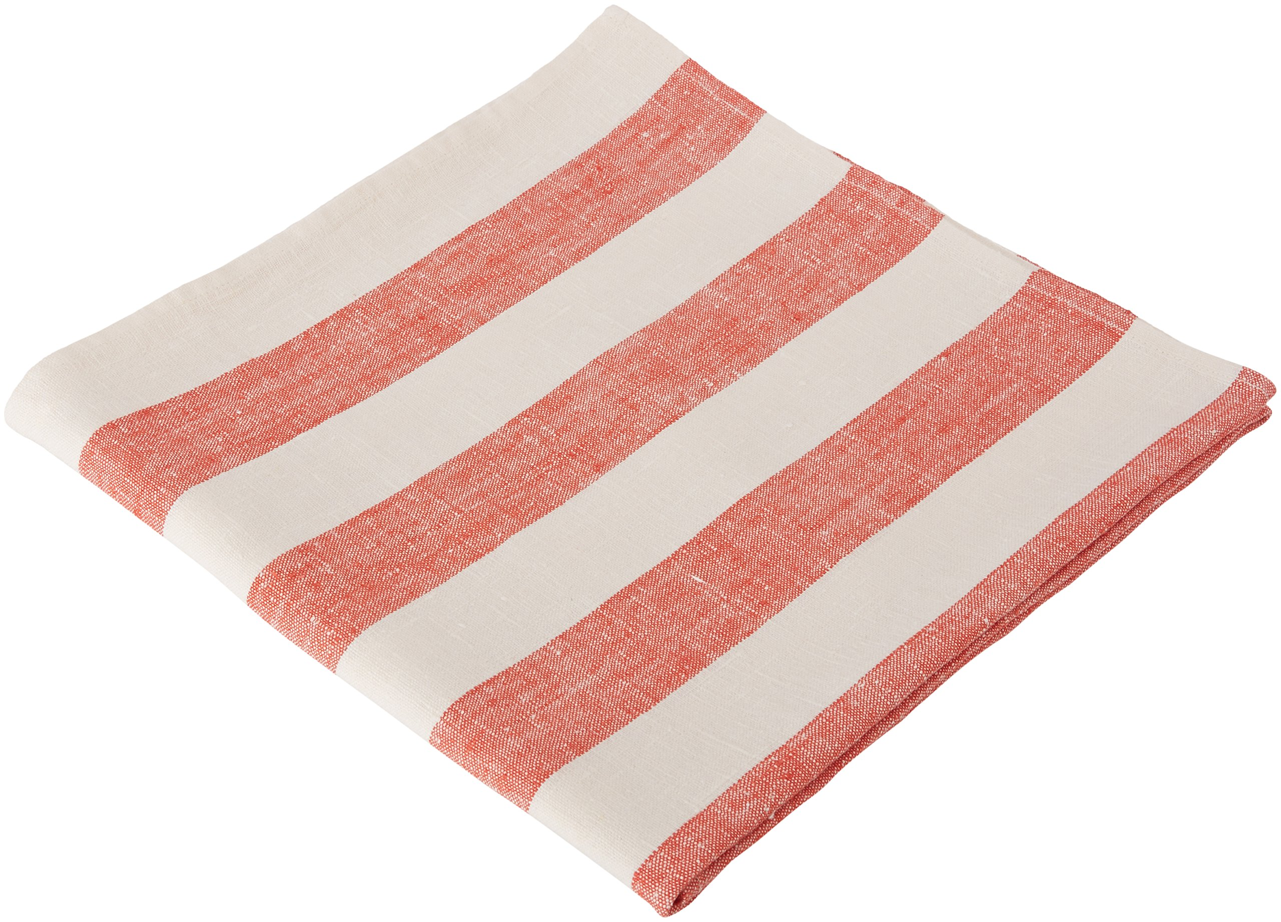 """LinenMe Philippe Bath Towel, 39"""" x 55"""", Off Off White/Red - This classic linen towel of wide red stripes design would make a great addition to any bathroom. The towel is made from 100Percent linen of huckaback weaving. Plain seam around, prewashed for extra softness, special loop for convenient hanging Bath towel has a loop, size: 39X 55, color: red, also available 8 colors, machine washable Produced in Europe from 100Percent linen - bathroom-linens, bathroom, bath-towels - 91yEfZDUjeL -"""