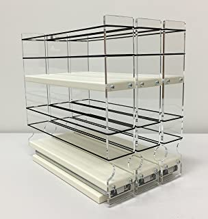 Vertical Spice   222x2x11 DC   Spice Rack   Cabinet Mounted  3 Drawers   36