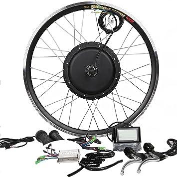 48 V500 W Hub motor bicicleta eléctrica Kit de conversión + LCD + ...