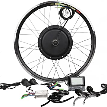 91yEjsIaRNL._SY355_ 48v500w hub motor electric bike conversion kit lcd disc brake  at aneh.co