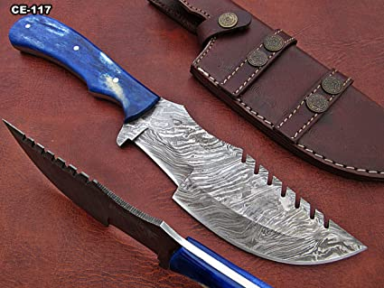 Amazon.com: Cheaspeake Enterprises – Cuchillo de caza de ...