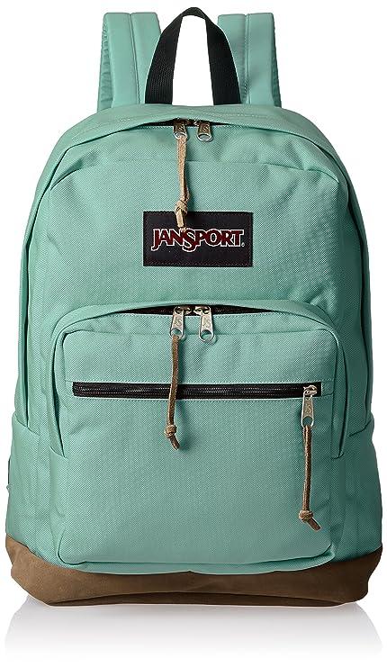 Amazoncom Jansport Mens Right Pack Js00typ70r7 Malachite Green