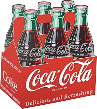 Coca Cola Madera Six Pack Entrar: Amazon.es: Hogar