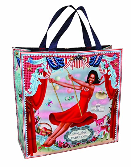 Image Unavailable. Image not available for. Color  Blue Q - Mighty Michelle  Shopper 8c2a44060537e