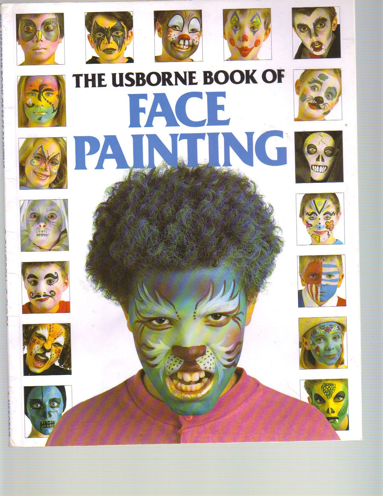 Usborne face the painting of book