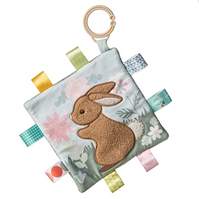 Mary Meyer Taggies Harmony Bunny Crinkle Teether – 6×6″ : Baby