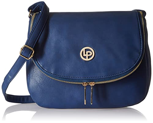 Lino Perros Women s Sling Bag (Blue)  Amazon.in  Shoes   Handbags 7244872d0