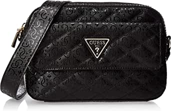 GUESS Women's Cross-Body Handbag, Black - SG747914