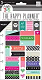 Me and My Big Ideas Create 365 Planner Stickers 5 Sheets/Pkg-Bold - Washi,