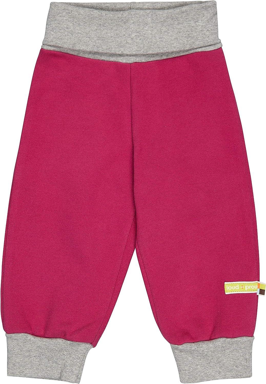 proud Girls Sweat-Hose Uni Aus Bio Baumwolle loud GOTS Zertifiziert Trouser