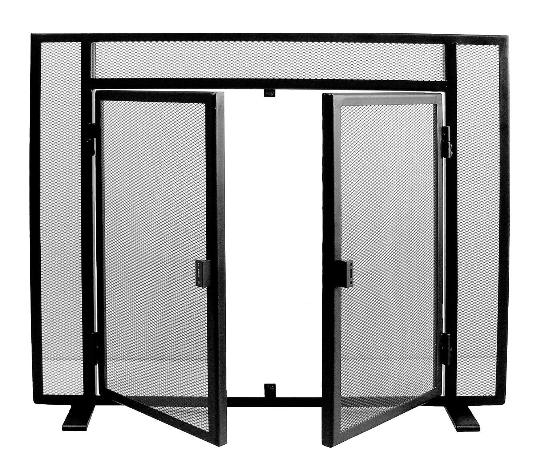81 x 68 cm Imex El Zorro 10404 Salvachispas Simple con Puertas