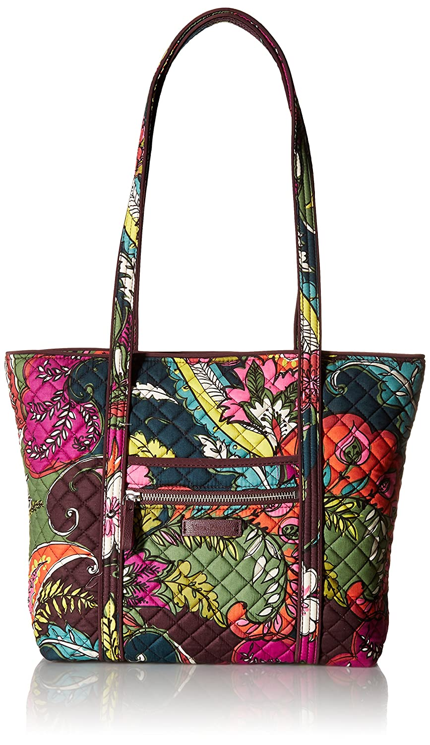 Amazon.com  Vera Bradley Iconic Small Vera Tote-Signature  Clothing ffc33f231839e