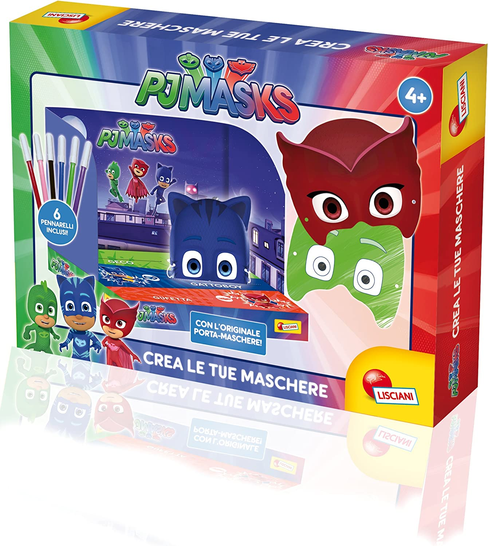 Lisciani Giochi 62997 – PJ Masks CREA Tus máscaras: Amazon.es ...
