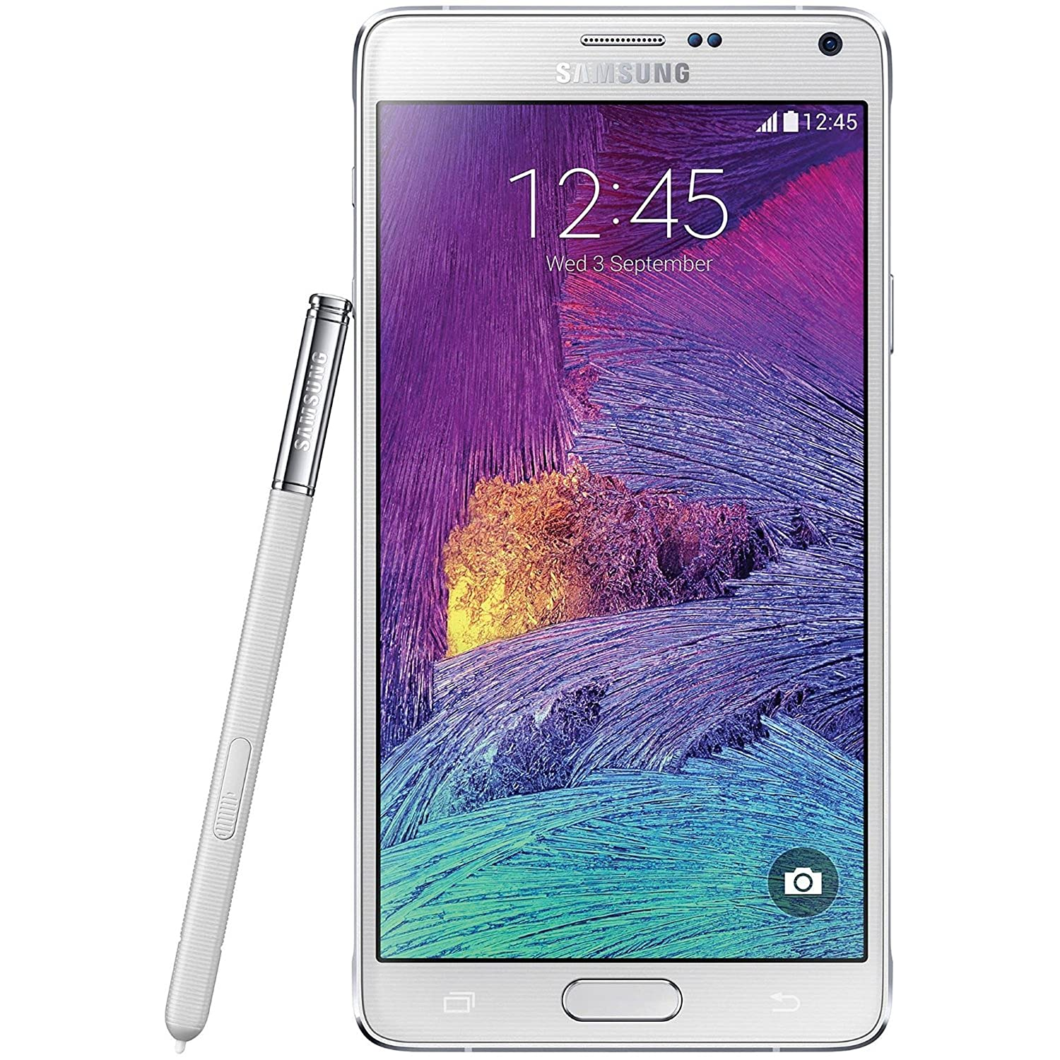 Amazon.com: Samsung Galaxy Note 4, Frosted White 32GB (AT&T ...