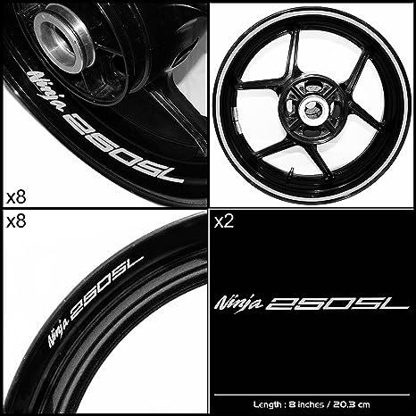 Amazon.com: Logo Vinilos Kawasaki Ninja 250 SL Kit de ...