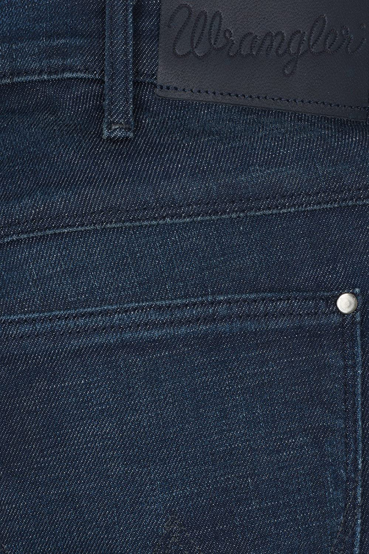 Wrangler Larston Hose Herren Jeans Denim Blau Xtra Stretch Slim W18S-KY-90Z