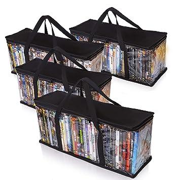 Amazon.com: Besti - Bolsas de almacenamiento para DVD (4 ...