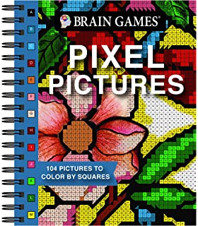 Colorart Pixel Pictures Book With Colored Pencils