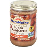 Maranatha Creamy Almond Butter, No Stir, 12 oz