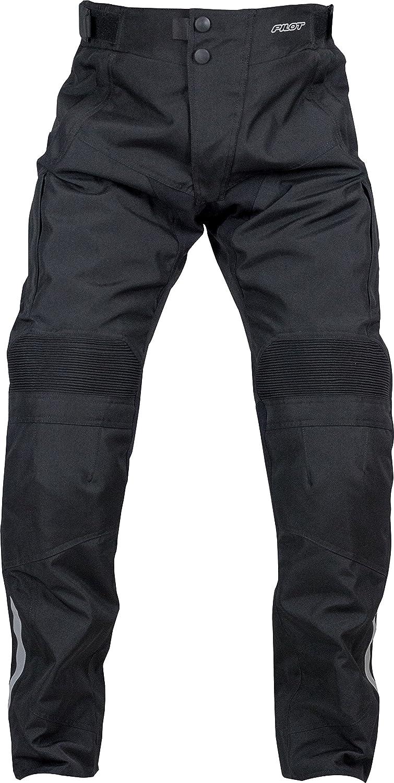 Pilot Motosport Men's Dura Motorcycle Over Pants (38-40) (Black, XX-Large) 3000301-05