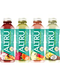 ALTRU, The Mother of all Antioxidant Drinks Variety Pack,12 pack bottles, 3 each of Peach Mangosteen, Mango Cherimoya...