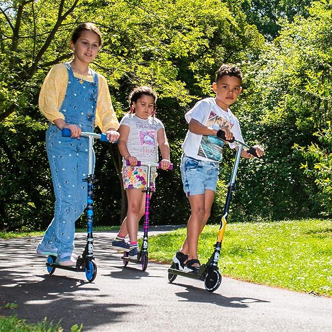 Amazon.com: Bopster - Patinete plegable con 2 ruedas para ...