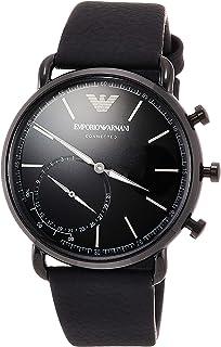 c84eca6aa9 [エンポリオ アルマーニ]EMPORIO ARMANI 腕時計 AVIATOR ハイブリッドスマートウォッチ ART3030 メンズ 【正規輸入