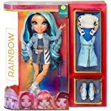 Rainbow High Rainbow Surprise Skyler Bradshaw - Blue Clothes Fashion Doll with 2 Complete Mix & Match Outfits and Accessories
