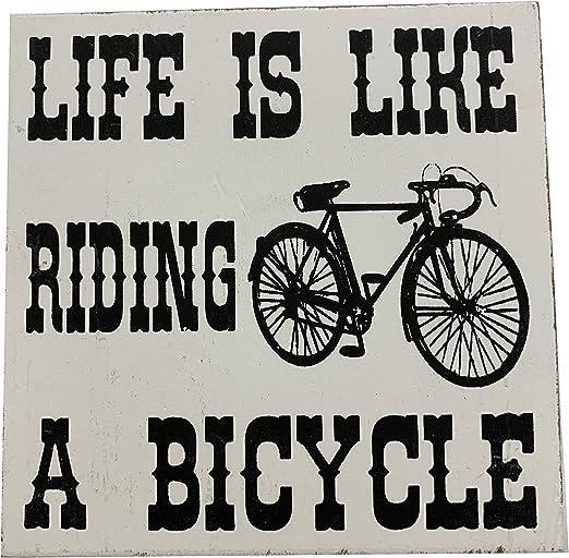 Richard Langs ciclismo coaster- vida es como montar en bicicleta ...